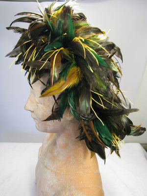 Festoon Stretchy Feather Headband