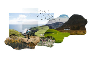 The sustainable future of golf collage