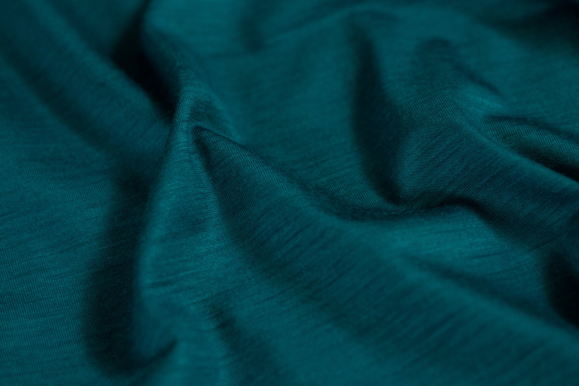 Close up of the 100% Merino Wool Fabric used for the Signature Merino Golf Polo Shirt