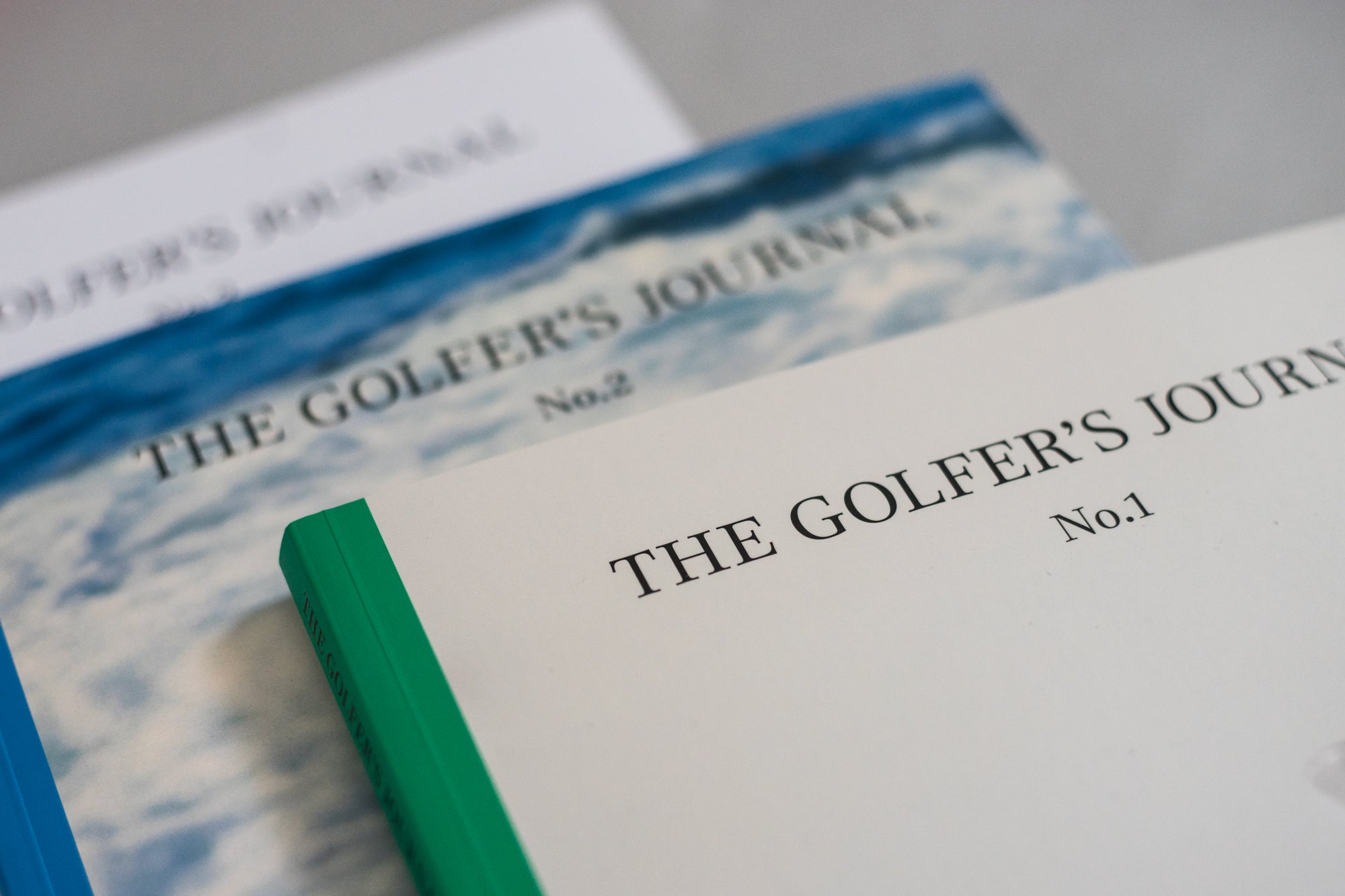 The Golfer's Journal Issues 1 to 3