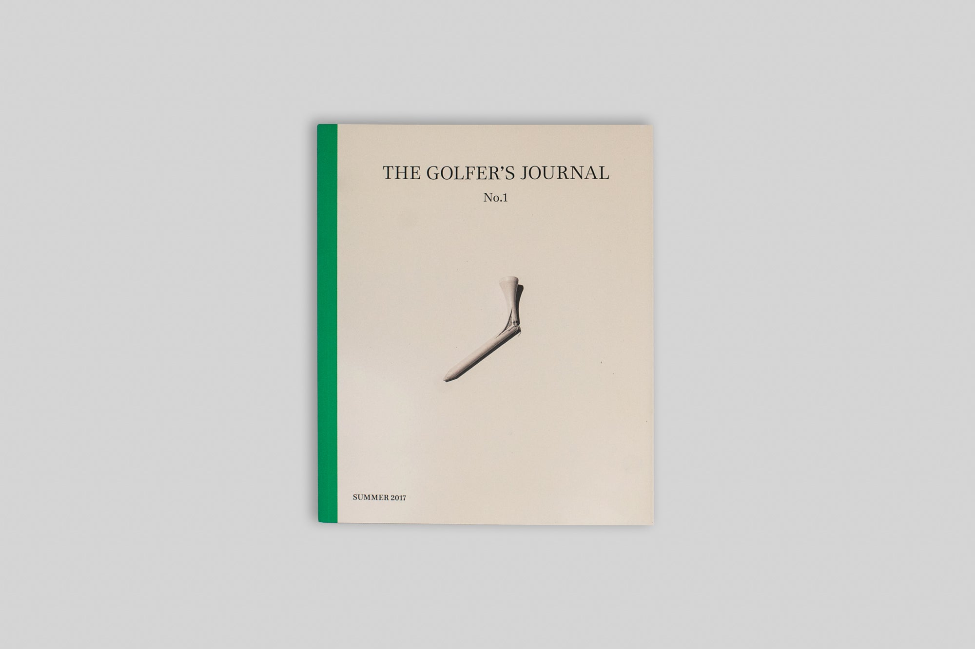 Front cover of The Golfer's Journal Issue 1