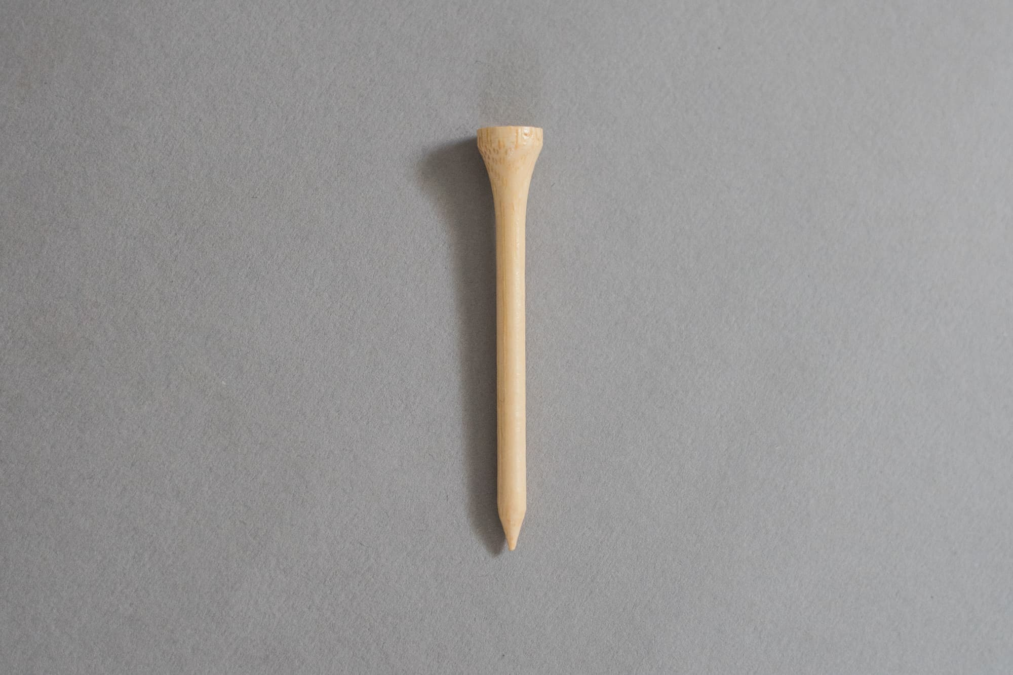Single Bamboo Golf Tee