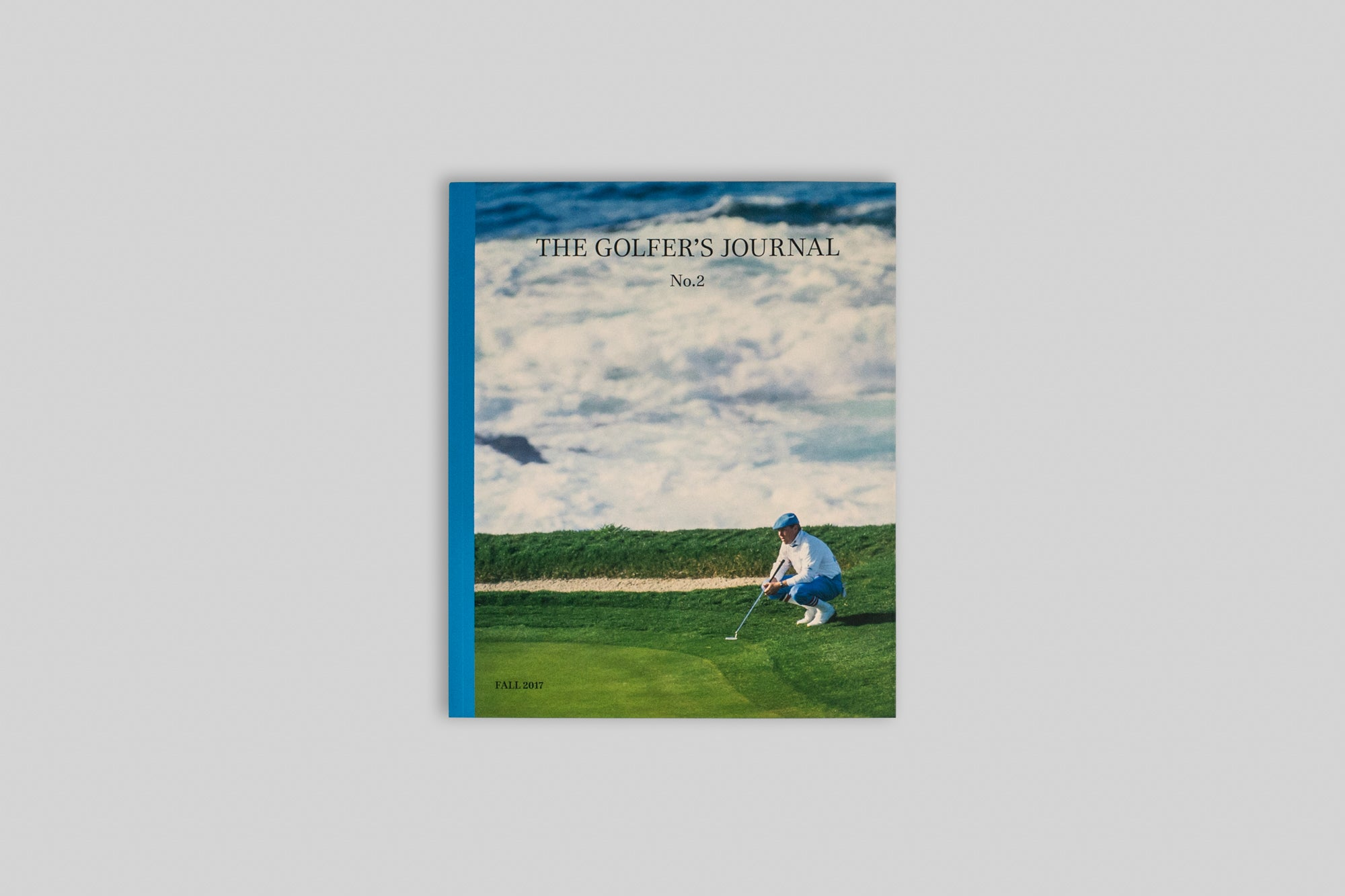 Front cover of The Golfer's Journal Issue 2