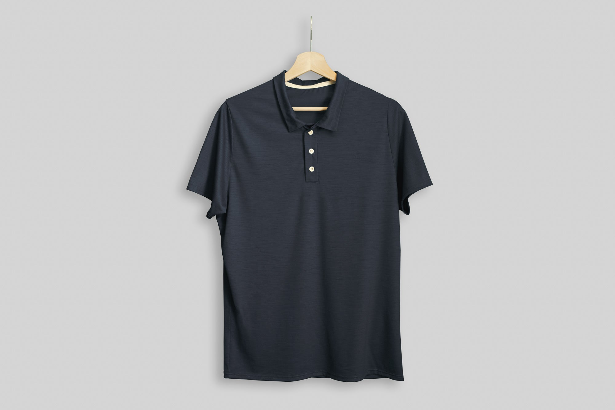 Minimalist Merino Wool Golf Shirt