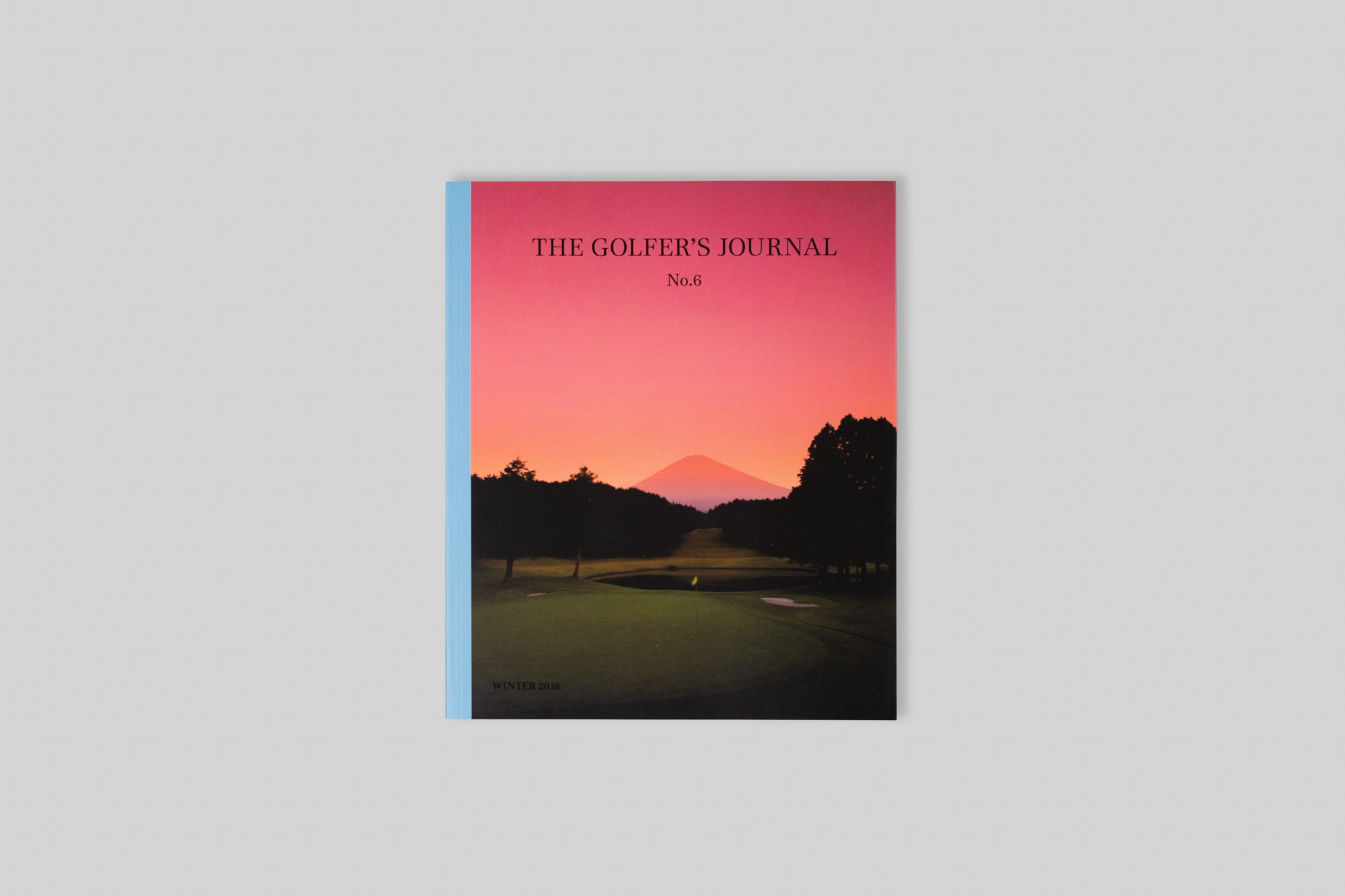 Cover of The Golfer's Journal Issue 6