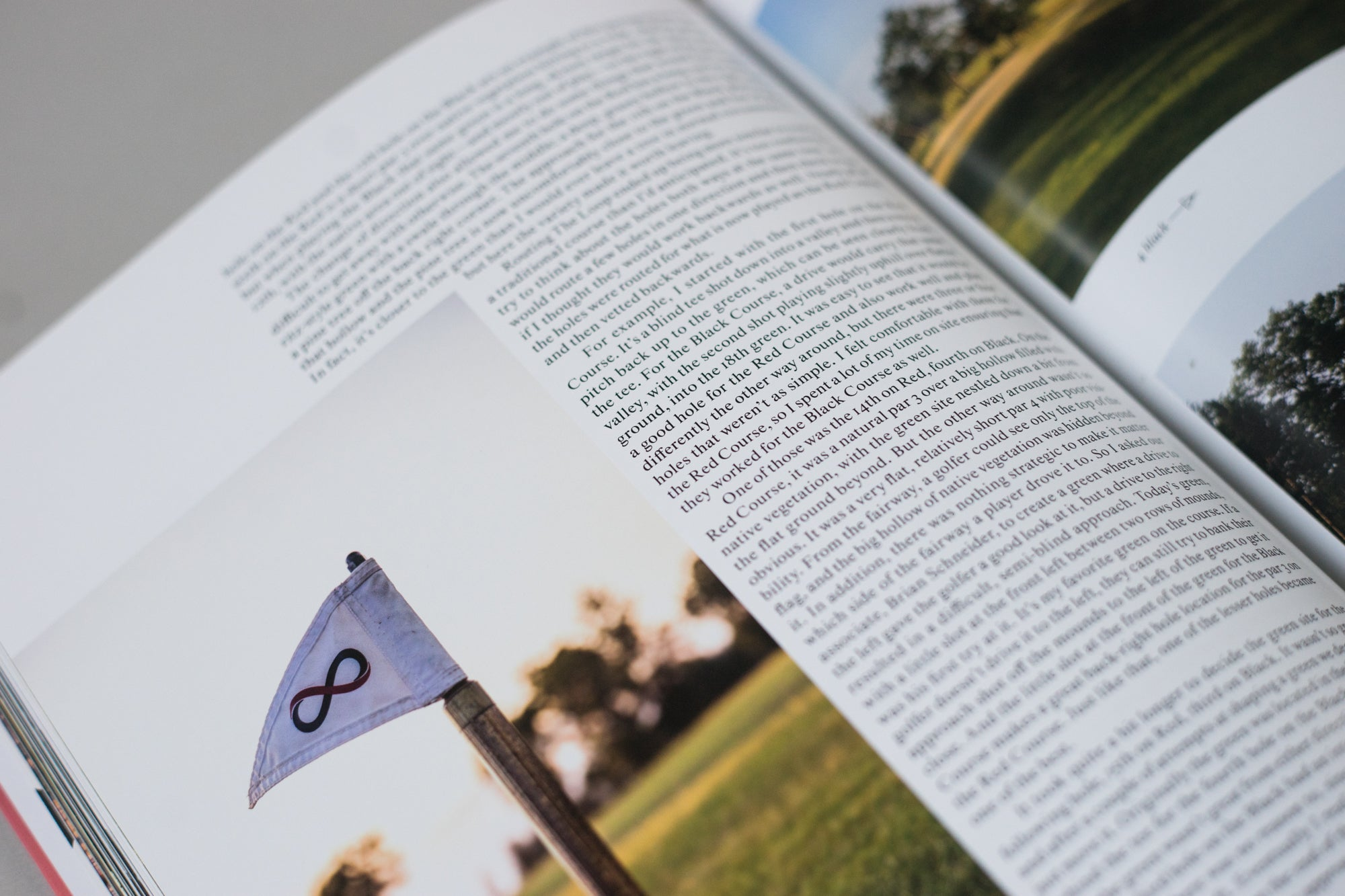 Article spread from The Golfer's Journal Issue 6