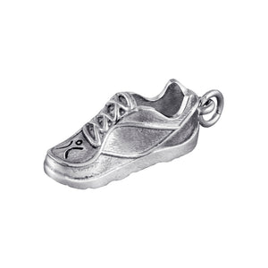 Sterling Silver Training Shoe pendant/charm