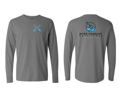 Long Sleeve Paddle On- RCO - Gray