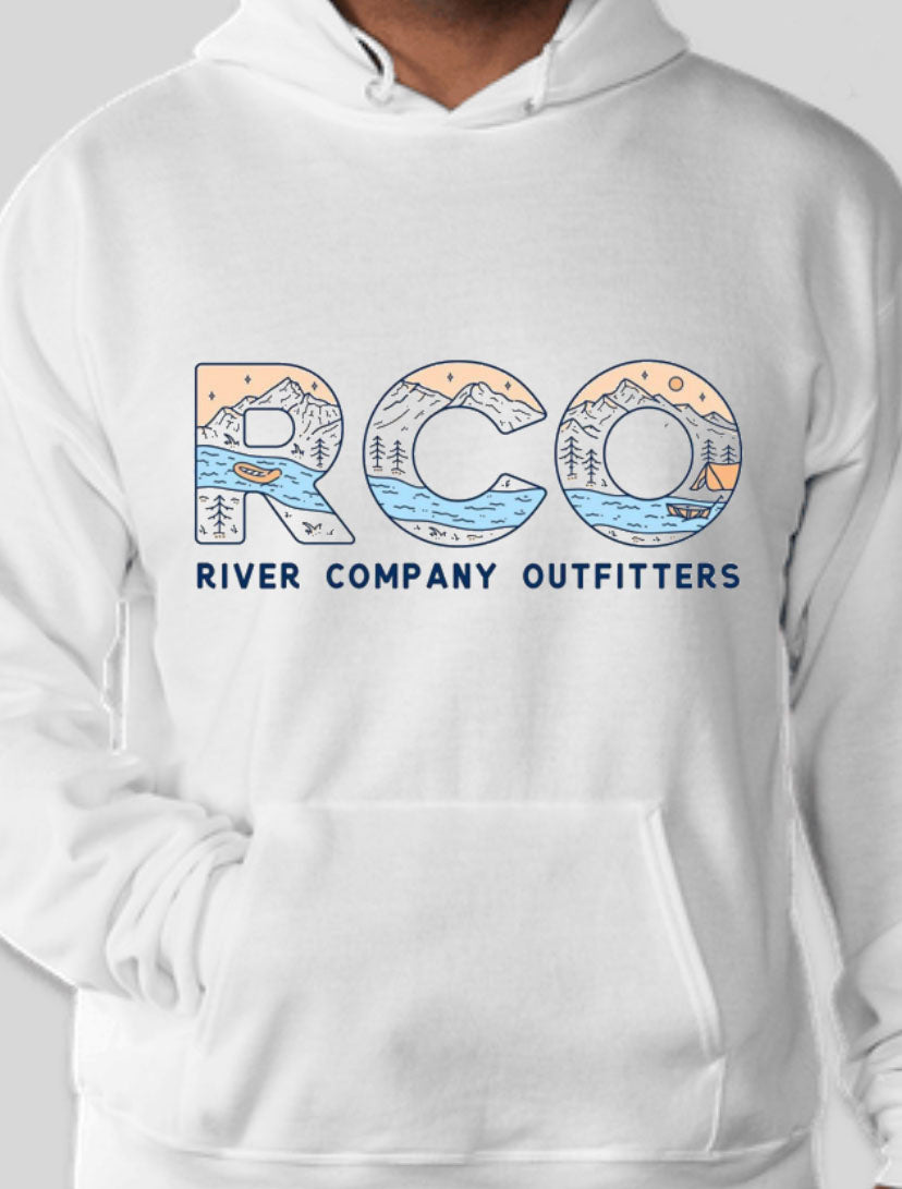 White RCO Hoodies