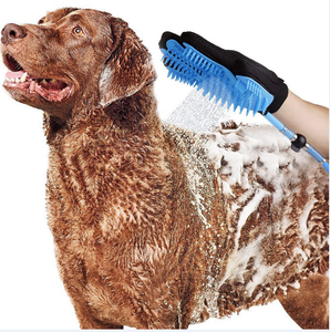 Pet Bath Sprayer Gloves