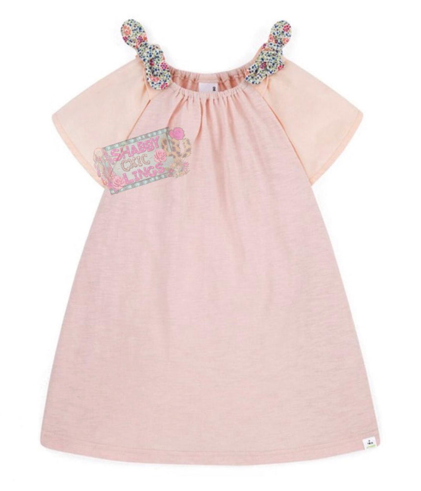 Baby Pink Cotton Dress