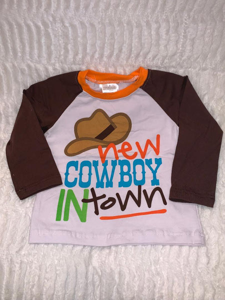 New Cowboy in Town shirt