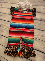 NEW Serape and Cheetah Romper