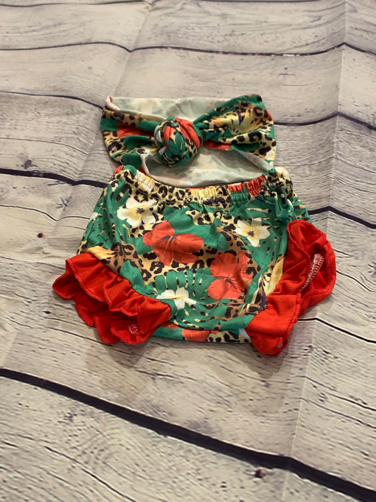 Floral and Cheetah Bloomers/Shorties