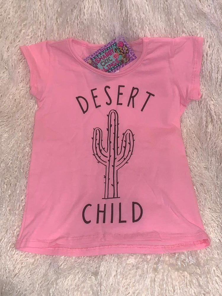 Desert Child Graphic Tee Pink