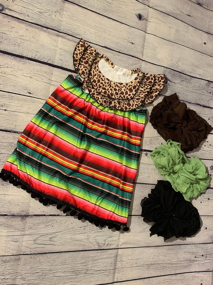 Serape Cheetah Dress