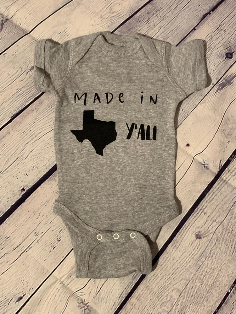 Made in Texas Onesies