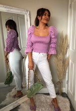 Load image into Gallery viewer, Lilac Poplin Top