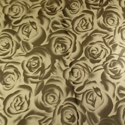 GOLD ROSES - Soft Metallic HTV