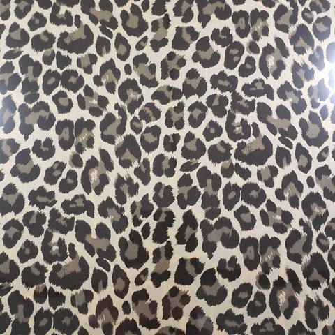 LEOPARD GOLD - Soft Metallic HTV