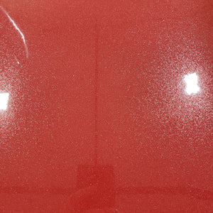 RED - Metal Flake HTV