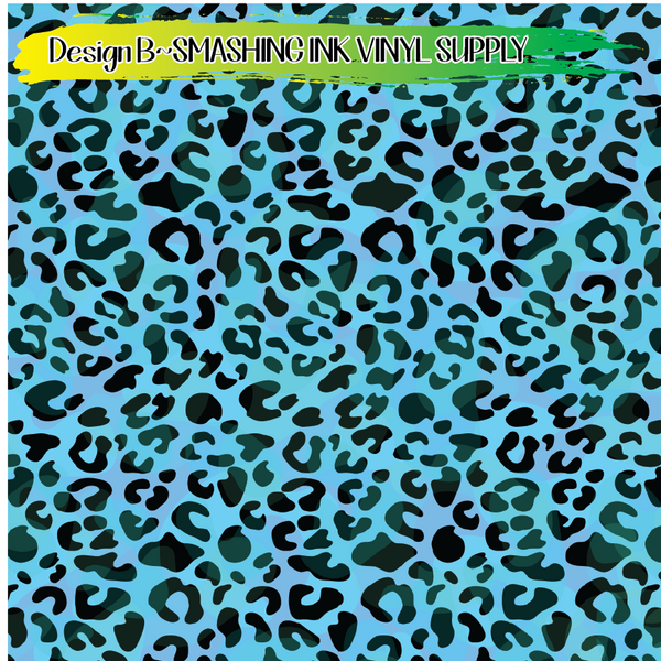 Cheetah Print - Pattern Vinyl (SHIPS IN 3 BUS DAYS)