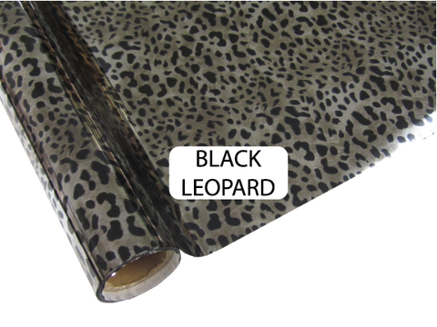 Black Leopard - Heat Transfer Foil Foil