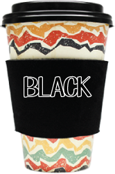 Blank Solid Color - Coffee Wraps Black Blanks