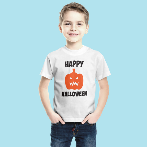 Happy Halloween Pumpkin - Sublimation Transfer