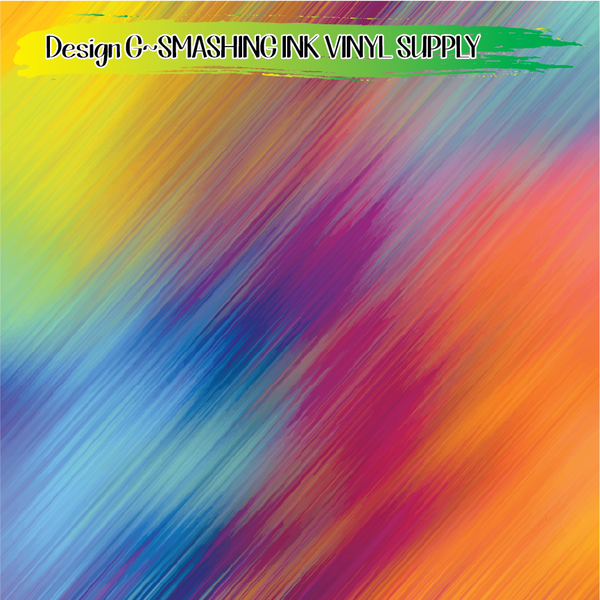 Colorful Lines - Pattern Vinyl (READY IN 3 BUS DAYS)