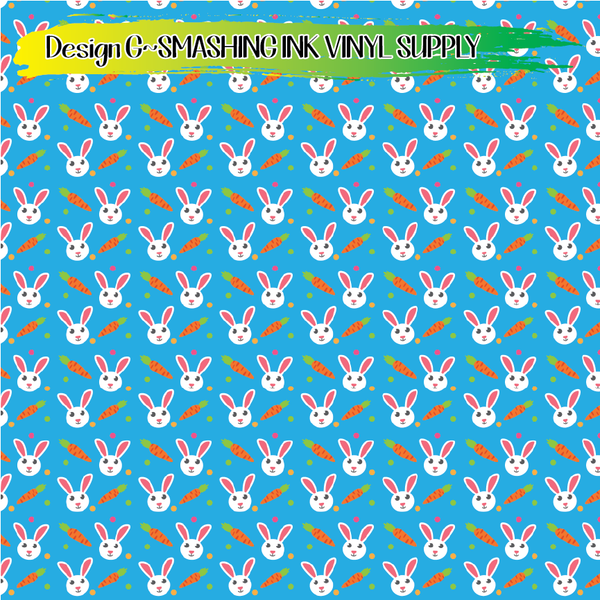 Easter Pattern - Pattern Vinyl (READY IN 3 BUS DAYS)