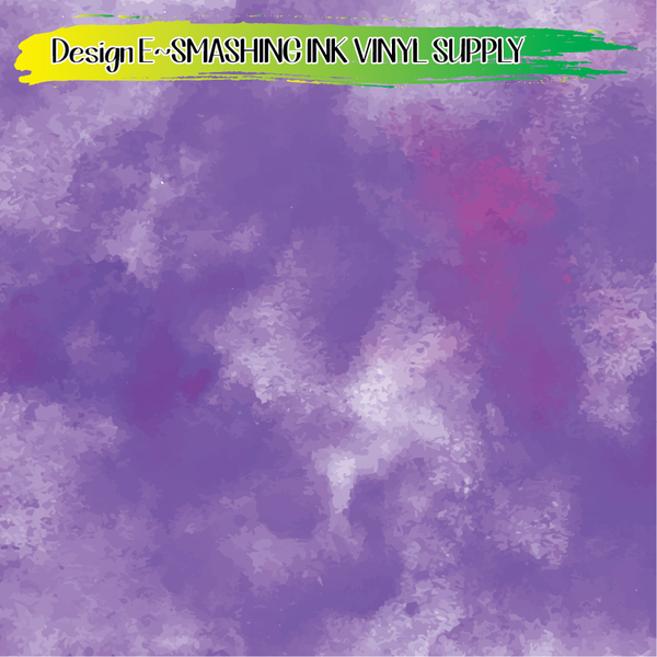 Purple Watercolor - Pattern Vinyl (READY IN 3 BUS DAYS)