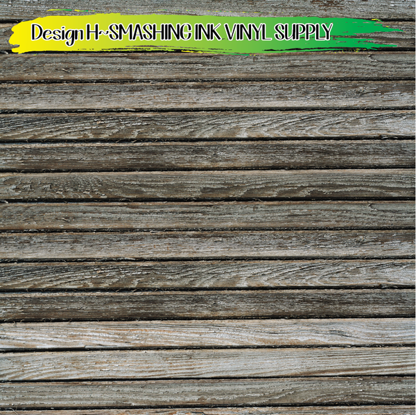 Grey Wood - Pattern Vinyl (READY IN 3 BUS DAYS)