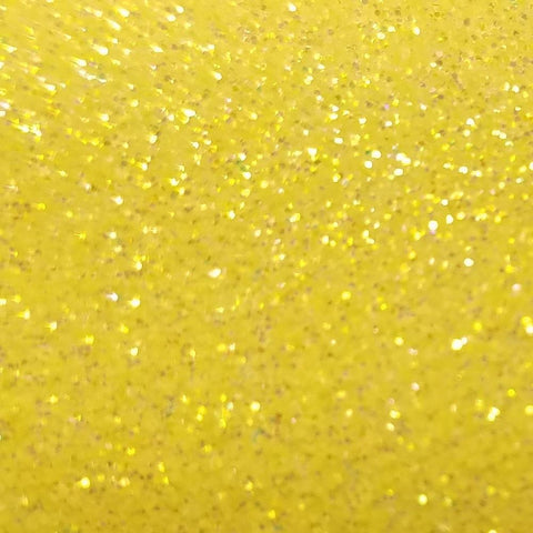 Fl Yellow - Glitter Flake Htv Gf