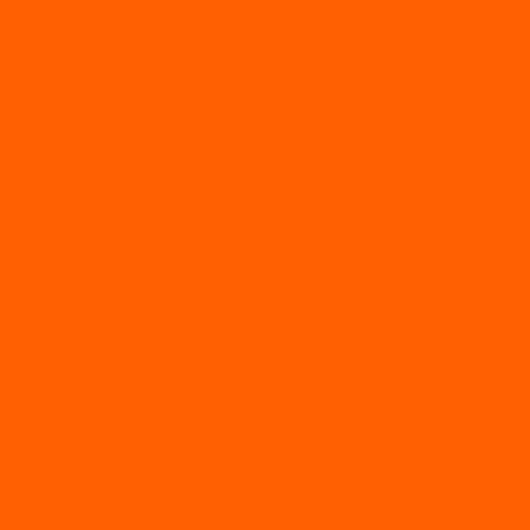 Fl. Orange - Fluorescent Cast Vinyl