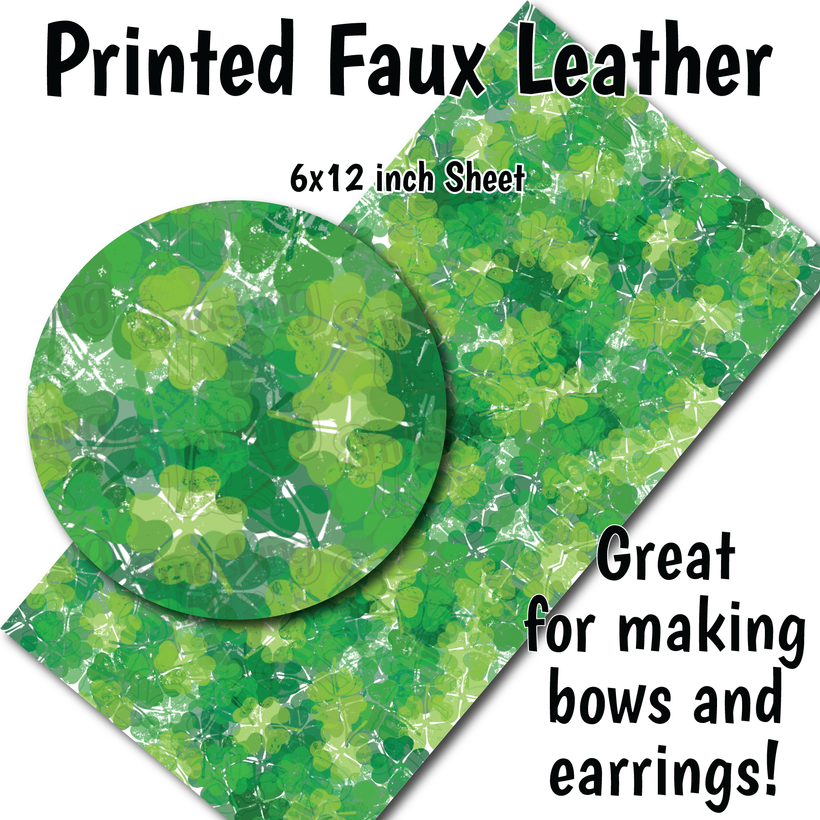 St. Patrick's Day Patterns - Faux Leather