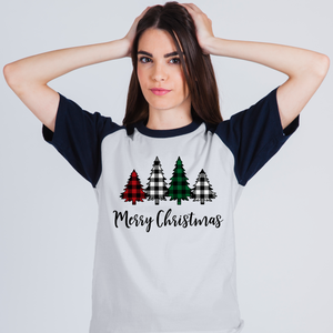 Merry Christmas Trees - Full Color Heat Transfer