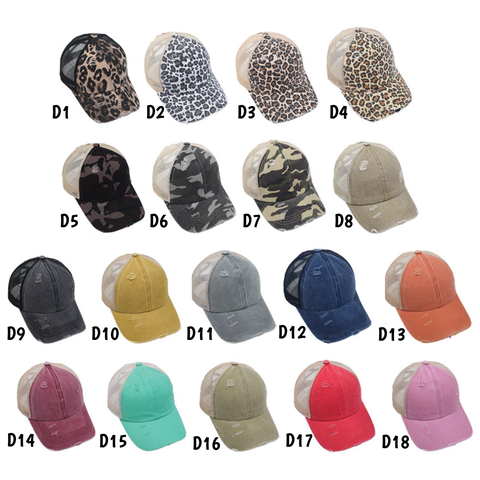 Criss Cross Ponytail Hats