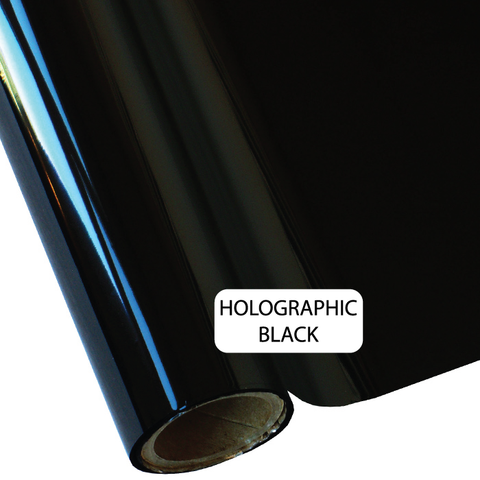 Holo Black - Heat Transfer Foil Foil