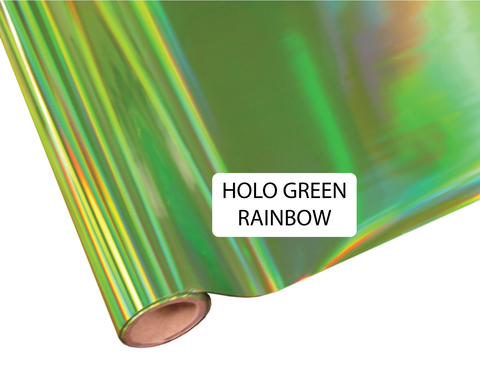 Holo Green Rainbow - Heat Transfer Foil Foil
