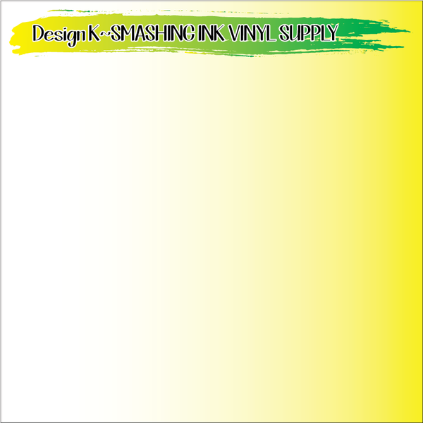 Yellow Ombre - Pattern Vinyl (READY IN 3 BUS DAYS)