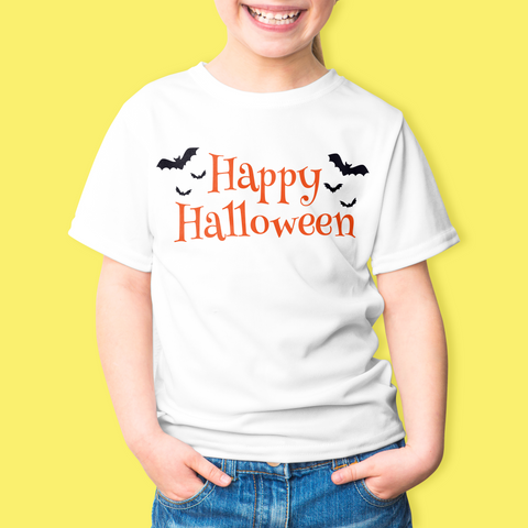 Happy Halloween Bats - Sublimation Transfer