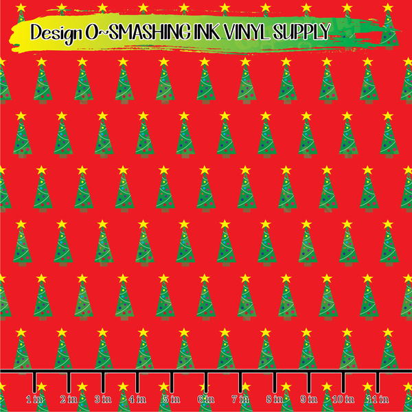 Christmas Patterns - Pattern Vinyl (SHIPS IN 3 BUS DAYS)