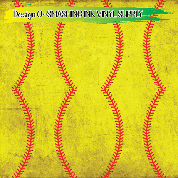 Dirty Softball - Pattern Vinyl (READY IN 3 BUS DAYS)