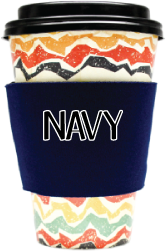 Blank Solid Color - Coffee Wraps Navy Blue Blanks