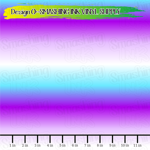 Purple Blue Ombre - Pattern Vinyl (READY IN 3 BUS DAYS)