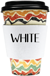 Blank Solid Color - Coffee Wraps White Blanks