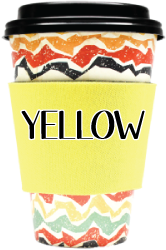 Blank Solid Color - Coffee Wraps Yellow Blanks