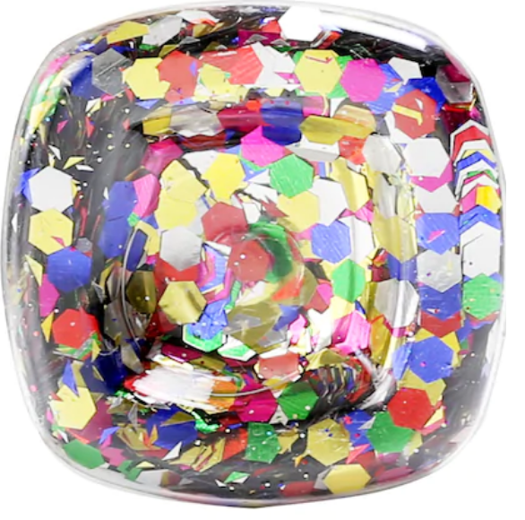 Super Chunky Glitter - Colorful Mix - .95 oz