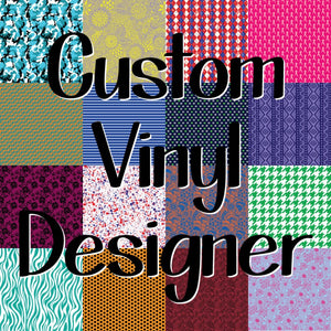 Custom Vinyl Designer - Create Your Own Pattern Vinyl!